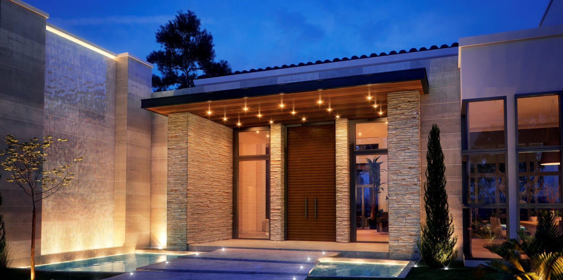 Custom Home (De Lope Residence)